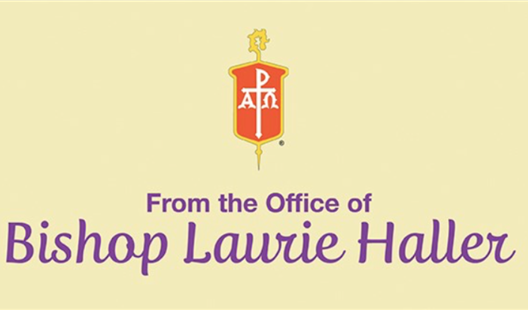 Pastoral Statement from Bishop Laurie