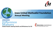 AC2020 - The Iowa United Methodist Foundation report
