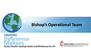AC2020 - Bishop's Operational Team report